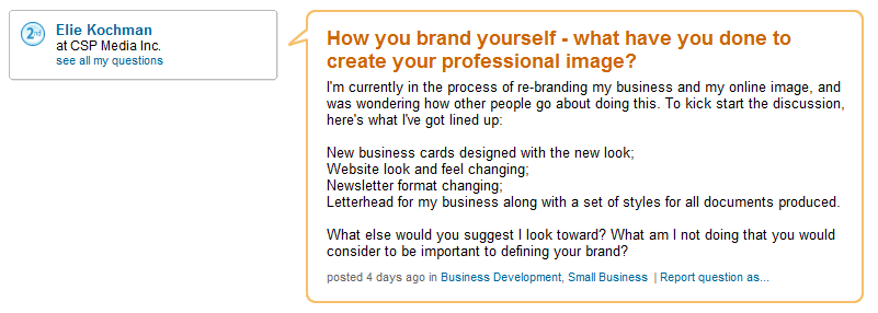 How to: Improve your web presence (personal branding)