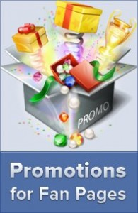 fan page promotions