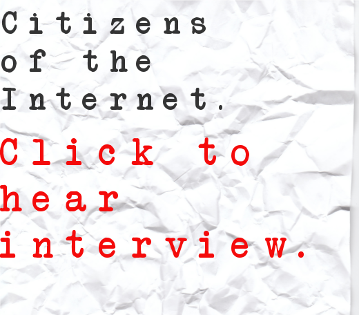 Citizens of the Internet Interview Series- How artists can thrive off their passion.